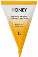 Маска для лица с экстрактом меда в пирамидках J:ON Honey Wash Off Mask Pack (5 грамм) - SKINSOFT