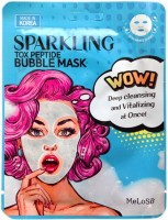 Кислородная маска с пептидами Meloso Tox Peptide Bubble Mask - SKINSOFT