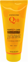 (07.21г) Освежающая пенка с коэнзимом Q10 Solegio Coenzyme Q10 Perfect Care Fresh Active Cleansing Foam  - SKINSOFT