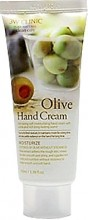 Крем для рук c экстрактом оливы 3W Clinic Moisturizing Olive Hand Cream - SKINSOFT