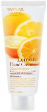 Крем для рук c экстрактом лимона 3W Clinic Moisturizing Lemon Hand Cream - SKINSOFT