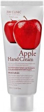 Крем для рук c экстрактом яблока 3W Clinic Moisturizing Apple Hand Cream - SKINSOFT
