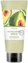Пенка очищающая с кислотами и экстрактом авокадо Lebelage Avocado Revital Cleansing Foam - SKINSOFT