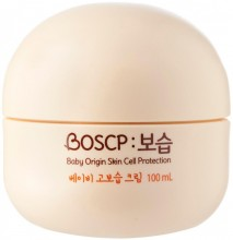 Детский крем для самых маленьких By Babience Boscp Baby Origin Skin Cell Protection Cream - SKINSOFT