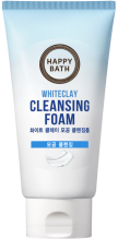 Очищающая пенка с белой глиной Happy Bath White Clay Pore Cleansing Foam - SKINSOFT