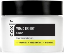 Крем выравнивающий тон кожи с витамином Coxir Vita C Bright Cream - SKINSOFT