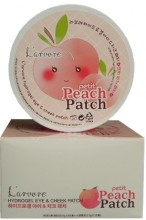 Гидрогелевые патчи для глаз L'arvore Hydrogel Eye& Cheek Petit Peach Patch  - SKINSOFT
