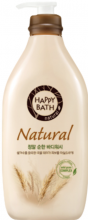 (06.21г) Гель для душа с экстрактами злаков Happy Bath Natural Real Mild Body Wash - SKINSOFT